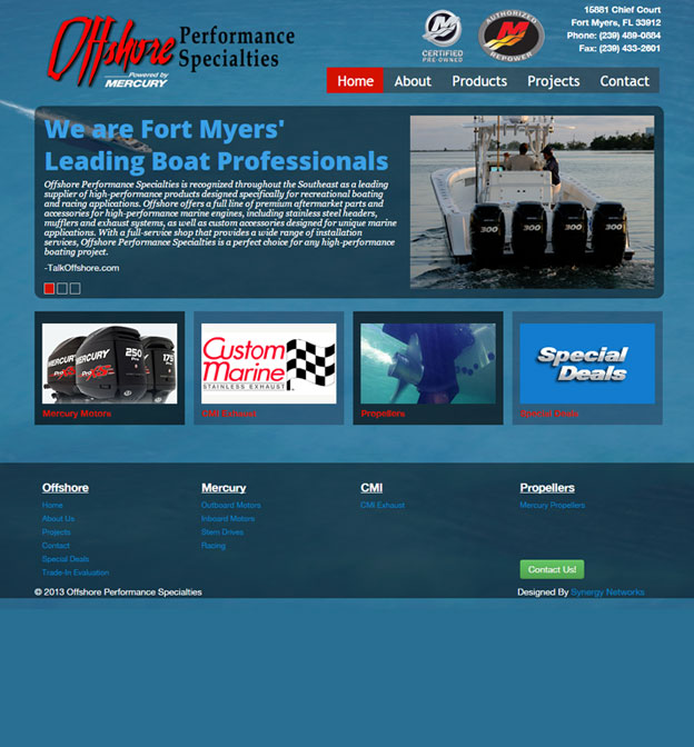 Offshore Performance Specialties