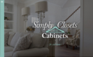 Simply Closets and Cabinets website